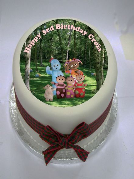 In The Night Garden Edible Cake Topper